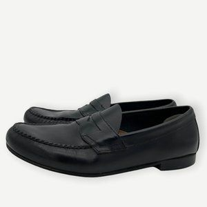 Weejuns Black Leather Kathleen Penny Loafers Women's Comfort Shoe